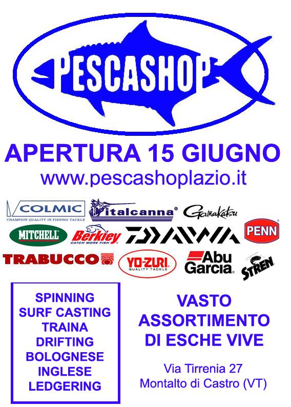 pesca shop